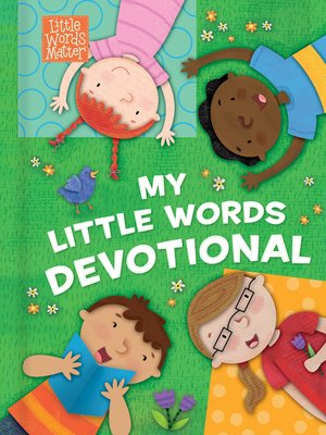 cover image of My Little Words Devotional
