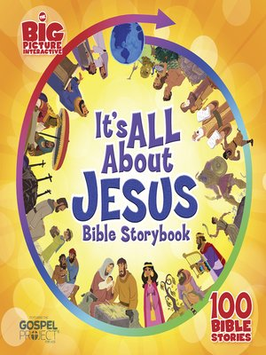 cover image of It's All About Jesus Bible Storybook
