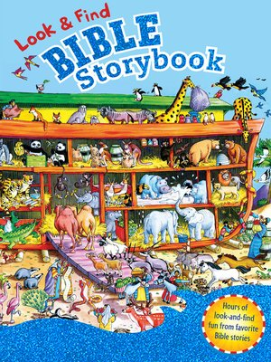 cover image of Look & Find Bible Storybook