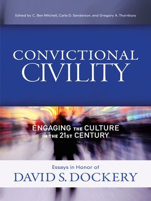cover image of Convictional Civility