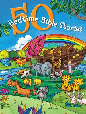 cover image of 50 Bedtime Bible Stories