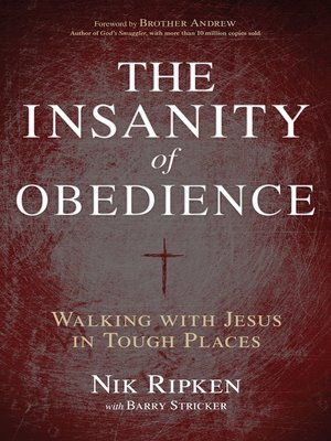 cover image of The Insanity of Obedience