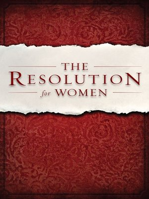 cover image of The Resolution for Women