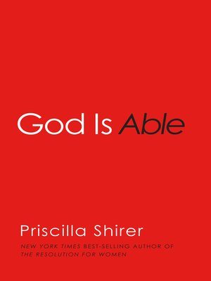 cover image of God is Able