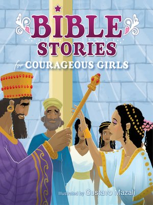 cover image of Bible Stories for Courageous Girls