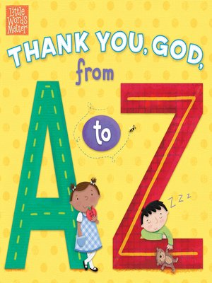 cover image of Thank You, God, from a to Z