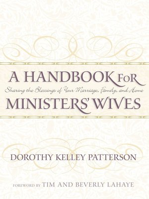 cover image of A Handbook for Minister's Wives