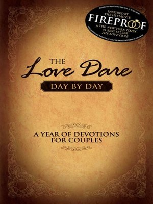 cover image of The Love Dare Day by Day