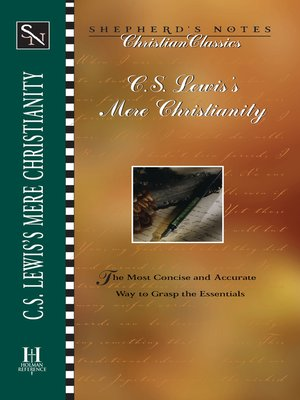 cover image of C.S. Lewis's Mere Christianity