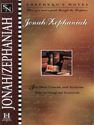 cover image of Jonah/Zephaniah