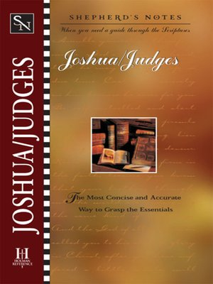 cover image of Joshua and Judges