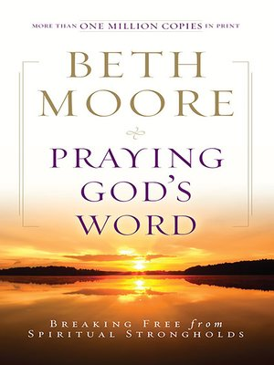 cover image of Praying God's Word