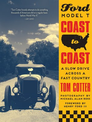 cover image of Ford Model T Coast to Coast