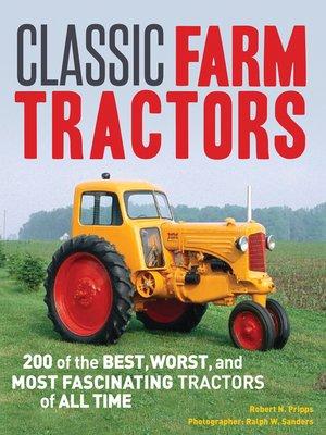 cover image of Classic Farm Tractors
