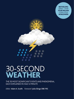 cover image of 30-Second Weather