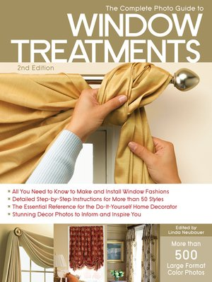 cover image of The Complete Photo Guide to Window Treatments