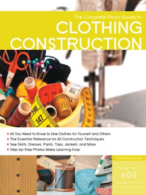 cover image of The Complete Photo Guide to Clothing Construction