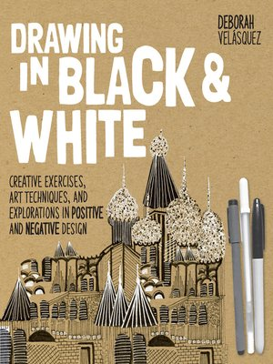 cover image of Drawing in Black & White