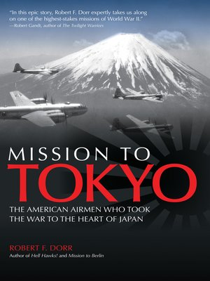 cover image of Mission to Tokyo