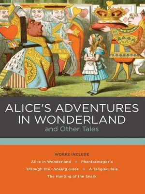 cover image of Alice's Adventures in Wonderland and Other Tales
