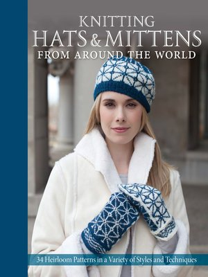 cover image of Knitting Hats & Mittens from Around the World