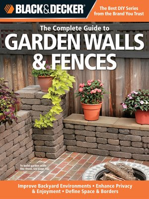 cover image of The Complete Guide to Garden Walls & Fences