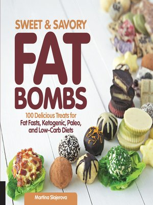 cover image of Sweet and Savory Fat Bombs
