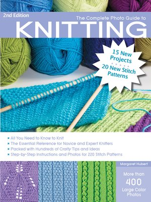 cover image of The Complete Photo Guide to Knitting