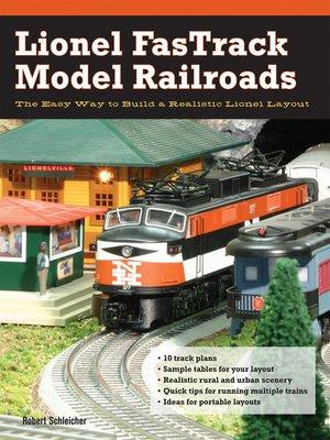 cover image of Lionel FasTrack Model Railroads