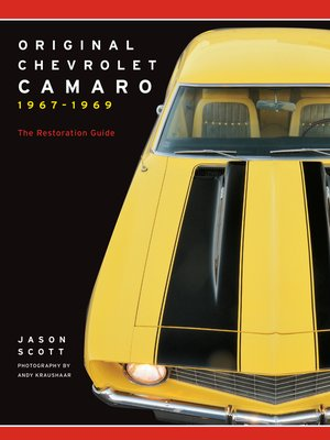 cover image of Original Chevrolet Camaro 1967-1969