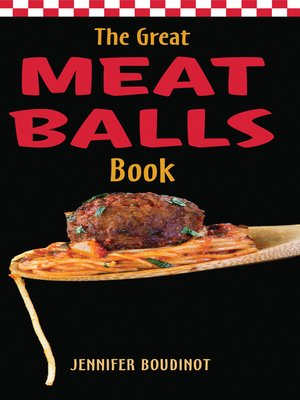 cover image of The Great Meatballs Book