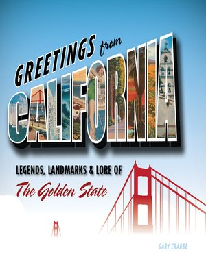 cover image of Greetings from California