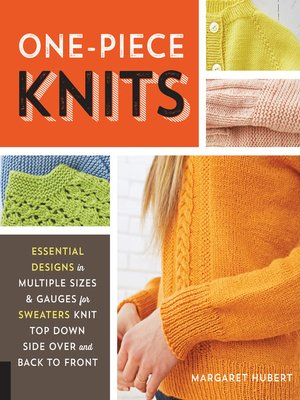 cover image of One-Piece Knits