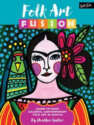 cover image of Folk Art Fusion