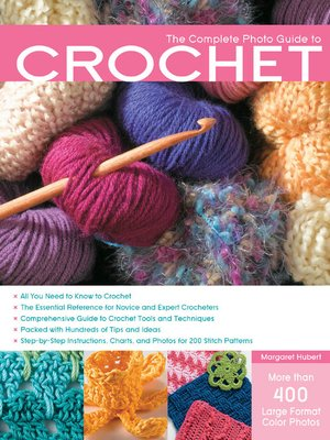 cover image of The Complete Photo Guide to Crochet