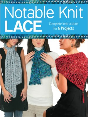 cover image of Notable Knit Lace