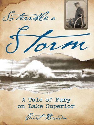 cover image of So Terrible a Storm