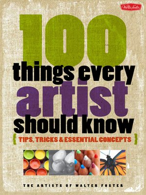 cover image of 100 Things Every Artist Should Know