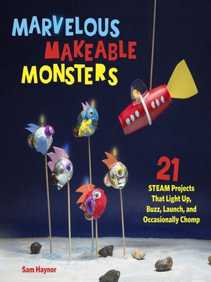 cover image of Marvelous Makeable Monsters