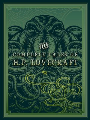 cover image of The Complete Tales of H.P. Lovecraft