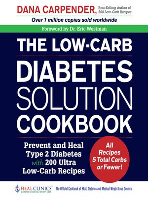 cover image of The Low-Carb Diabetes Solution Cookbook