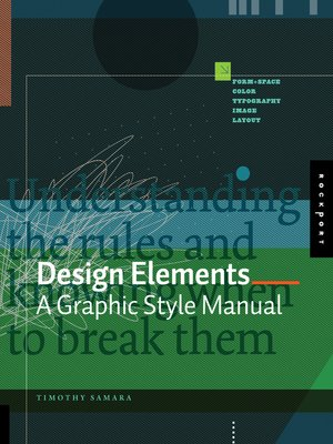 cover image of A Graphic Style Manual