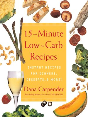 cover image of 15 Minute Low-Carb Recipes