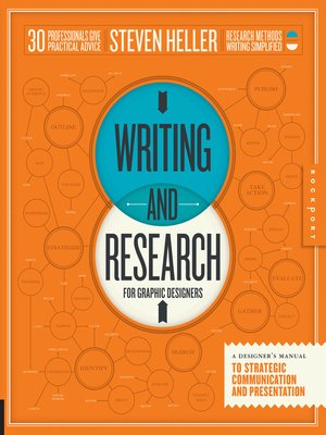 cover image of Writing and Research for Graphic Designers