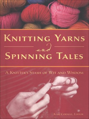 cover image of Knitting Yarns and Spinning Tales