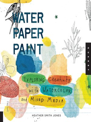 cover image of Water Paper Paint