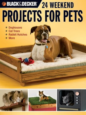 cover image of 24 Weekend Projects for Pets