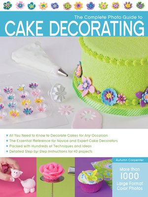 cover image of The Complete Photo Guide to Cake Decorating