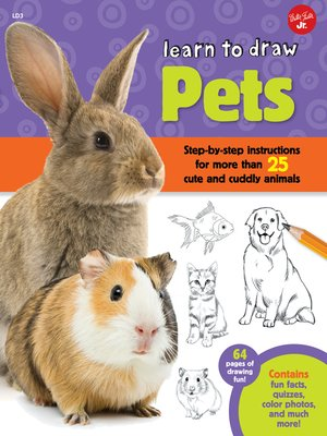 cover image of Learn to Draw Pets