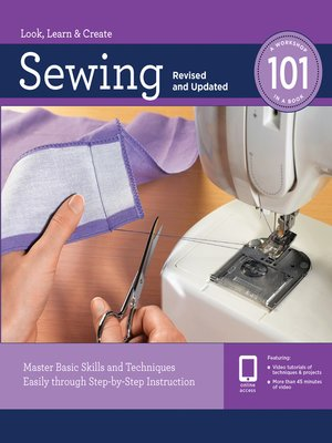 cover image of Sewing 101, Revised and Updated